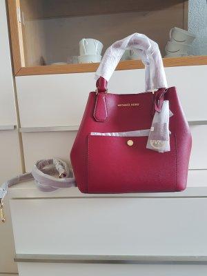 Michael Kors Greenwich Cherry Red rot gold Handtasche Tasche neu