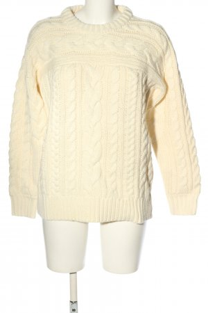 Michael Kors Grobstrickpullover creme Casual-Look