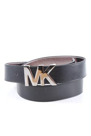 Michael Kors Cintura in ecopelle nero