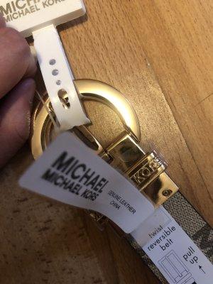 Michael Kors Cintura reversibile nero-ocra