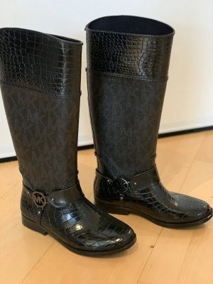 Michael Kors Botte en caoutchouc noir