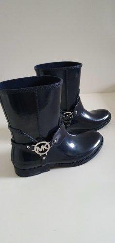 Michael Kors Wellington laarzen donkerblauw