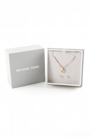 Michael Kors Collar color oro estilo «business»