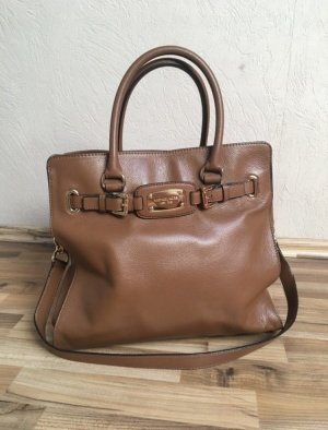 Michael Kors Hamilton Bag braun cognac