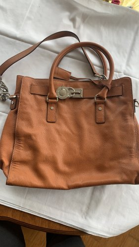 Michael Kors Hobos cognac-coloured