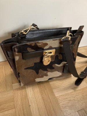 Michael Kors Hamilton camouflage Tasche