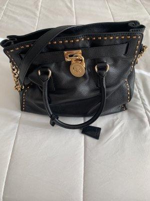 Michael Kors Hamilton schwarze Tasche