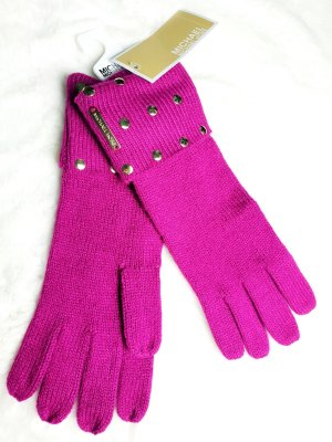 Michael Kors Knitted Gloves multicolored