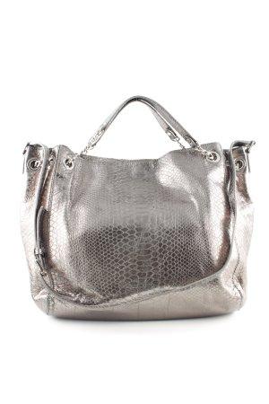 Michael Kors Handbag silver-colored animal pattern casual look