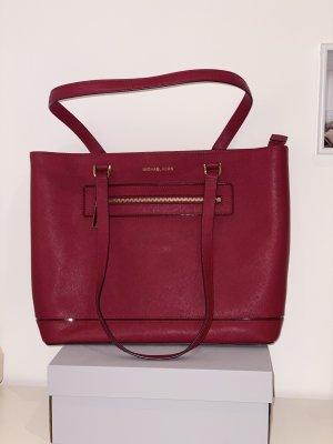 Michael Kors Carry Bag red-dark red