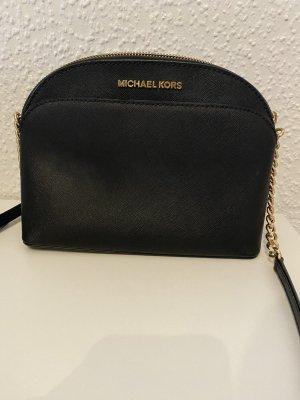 Michael Kors Gekruiste tas zwart-goud