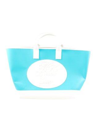 Michael Kors Handtasche blau-weiß Casual-Look