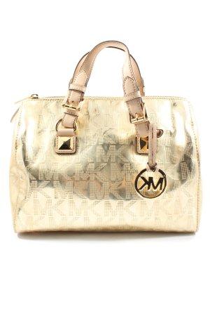 Michael Kors Carry Bag gold-colored printed lettering elegant
