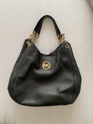 Michael Kors Handtasche Beuteltasche schwarz