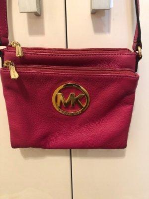 Michael Kors Handtasche mit Kartenfächern, pink