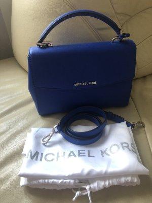Michael Kors Handtasche mit Staubbeutel und Schulterriemen / Blau