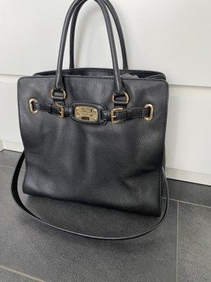 MICHAEL KORS Handtasche schwarz/ Gold