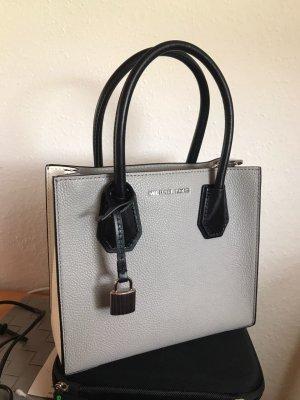 MICHAEL KORS Handtasche / schwarz, grau, weiß / kaum genutzt