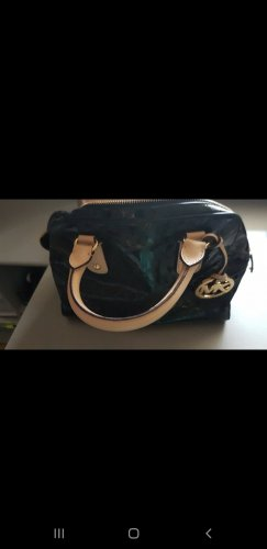 Michael Kors Handtasche schwarze Lack-Optik