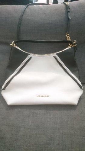 Michael Kors Handtasche weiß/schwarz