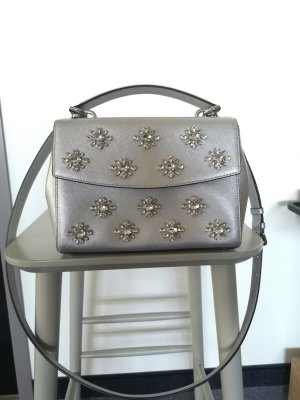 Michael Kors Minibolso color plata