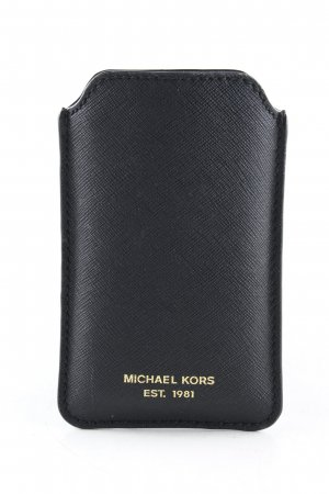 Michael Kors Handytasche schwarz Business-Look