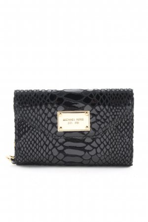 Michael Kors Handytasche schwarz Animalmuster Business-Look