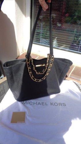 Michael Kors Harper Tote Bag gold schwarz Original Handtasche nur 69,99-Euro