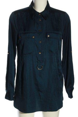 Michael Kors Hemd-Bluse blau Casual-Look