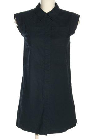 Michael Kors Hemdblusenkleid schwarz Casual-Look