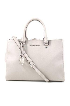 Michael Kors Carry Bag light grey weave pattern casual look
