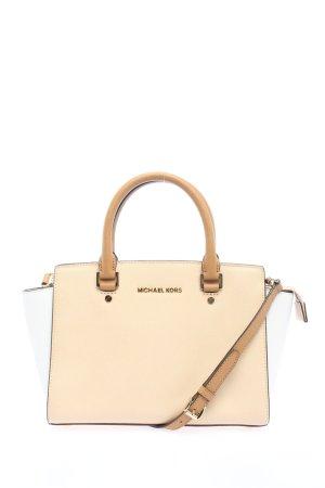 Michael Kors Carry Bag cream-white business style