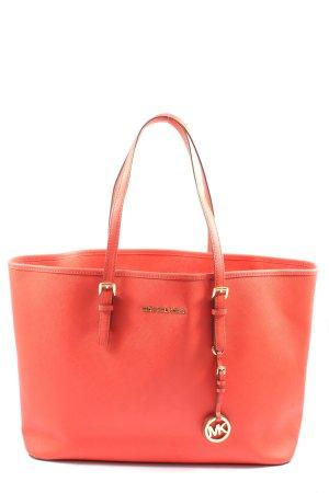 Michael Kors Carry Bag red casual look