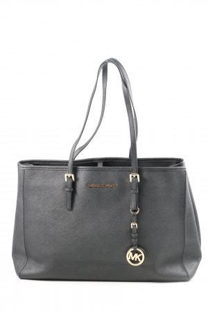 Michael Kors Henkeltasche hellgrau Business-Look