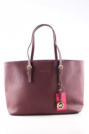 Michael Kors Sac Baril rouge style d'affaires