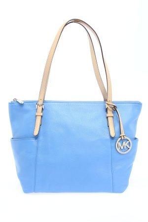 Michael Kors Handtasche blau-wollweiß Elegant
