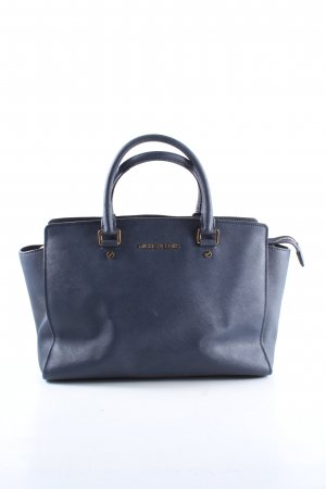 Michael Kors Henkeltasche blau Business-Look