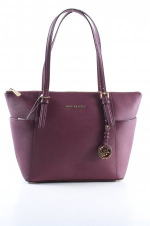 Michael Kors Henkeltasche lila Business-Look