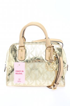 Michael Kors Bolso barrel color plata-blanco puro look casual