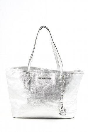 Michael Kors Shopper zilver casual uitstraling