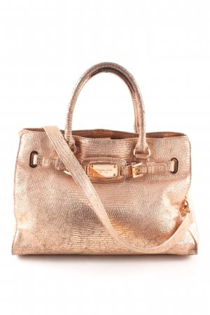 Michael Kors Carry Bag bronze-colored animal pattern business style