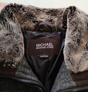 Michael Kors Kurtka zimowa antracyt-taupe