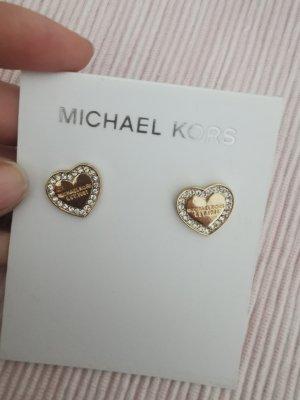 Michael Kors Pendientes de oro color oro