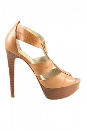 Michael Kors High Heel Sandaletten braun Casual-Look