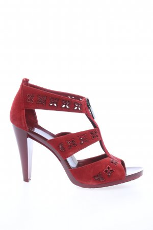 Michael Kors High Heel Sandaletten rot Elegant