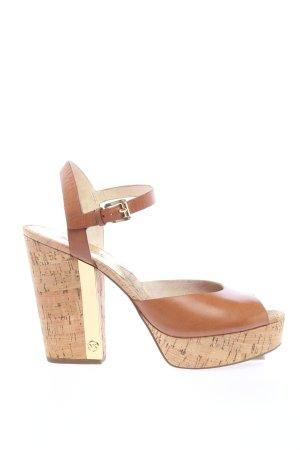 Michael Kors High Heel Sandaletten braun Elegant