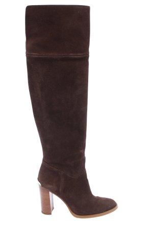 Michael Kors Wysokie buty na obcasie brązowy W stylu casual