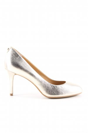 Michael Kors High Heels goldfarben Elegant