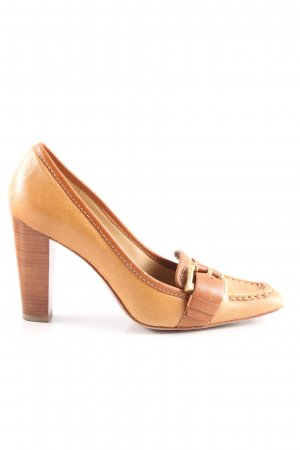 Michael Kors High Heels braun Business-Look