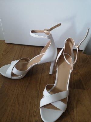 Michael Kors High heels weiß 39 1/2 neupreis 160€